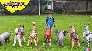 Animal rescue vs. Pteranodon!!