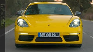 2019 Porsche 718 Cayman T | Racing Yellow | Driving, Interior, Exterior