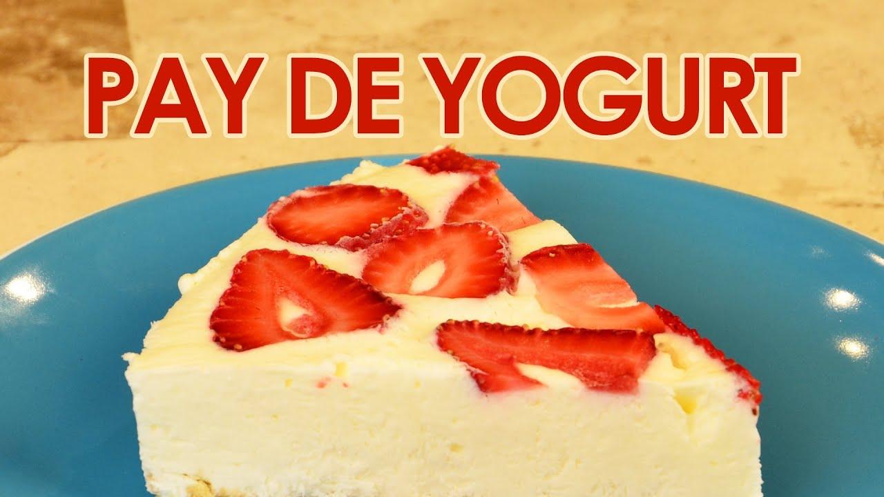 recetas faciles con yogurt