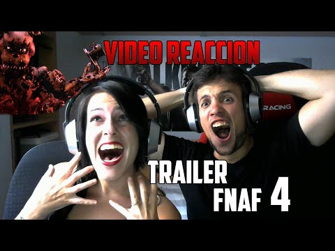 YUGO Y YAIMA VÍDEO REACCIÓN | TRAILER FIVE NIGHTS AT FREDDYS 4