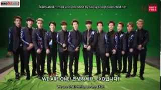[03.04.14] Lotte Duty Free Shop Promotional Clip -- EXO's Greeting [Eng]