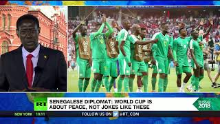 'World Cup is about peace & unity, not degrading jokes' – Senegalese diplomat