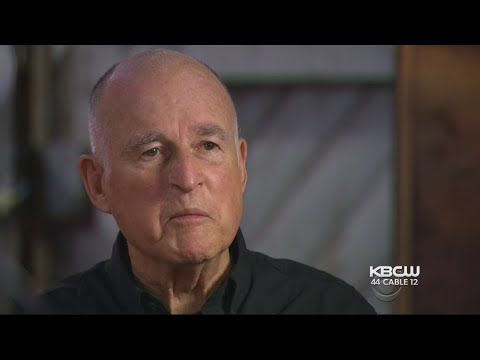 California Gov. Brown Blasts Trump During '60 Minutes' Interview