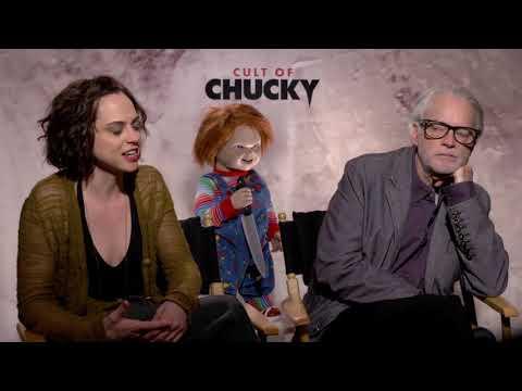 Cult of Chucky || Fiona Dourif and Brad Dourif Generic Interviews || SocialNews.XYZ