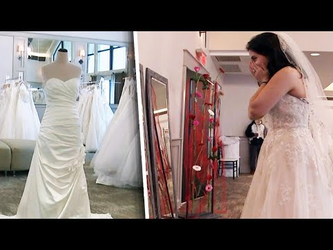 Lance Houston - Hundreds of Wedding Gowns Donated to Military Veterans