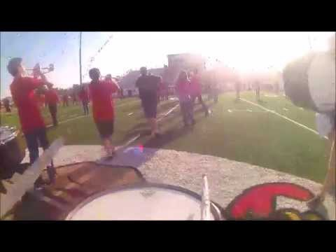 Poteau high school snare gopro 2015