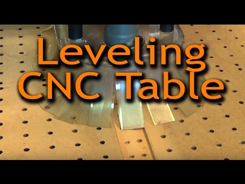 How We Level CNC Table to Flatten - Cutting Room Floor