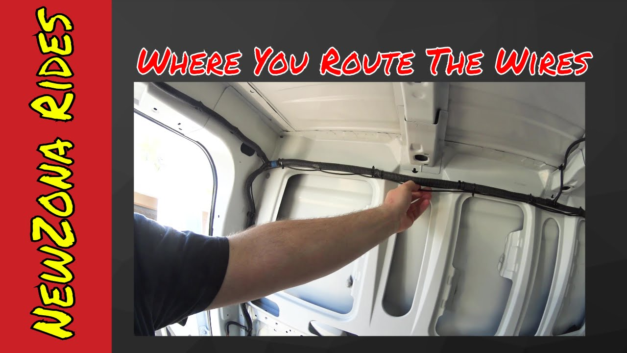 hight resolution of van life nissan nv trailer wiring