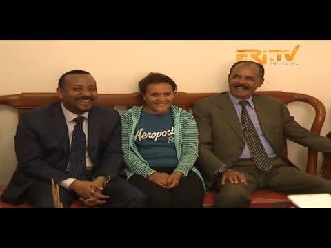 ERi-TV, Eritrea: Prime Minister Abiy Visits President Isaias' Family Residence