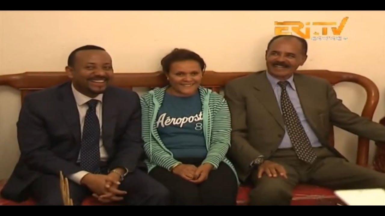ERi-TV, Eritrea: Prime Minister Abiy Visits President Isaias ...