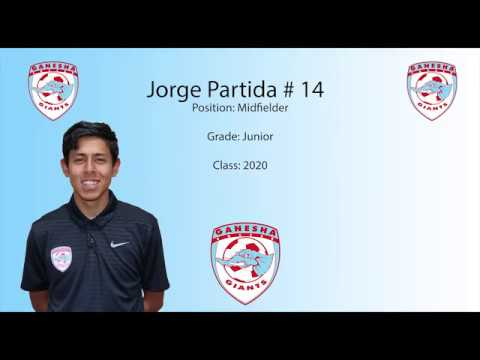 Jorge Partida Junior Year Highlights Ganesha High School class of 2020