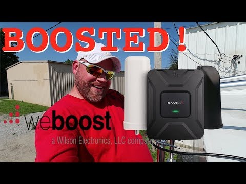 RV Cell Booster Install For Enhanced WiFi/Wireless