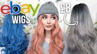 I BOUGHT EBAY WIGS UNDER £10! IM SHOOK