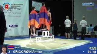 Победы армянских тяжелоатлетов на чемпионате Европы