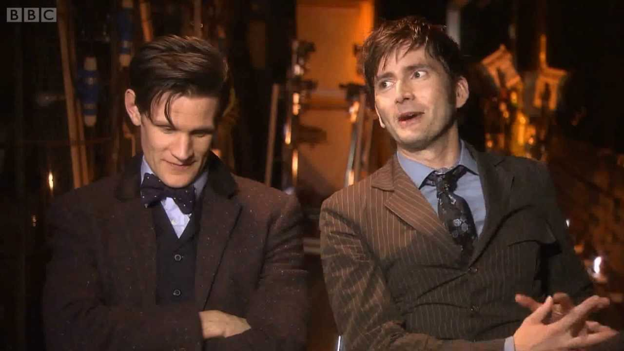 doctor who 50th anniversary david tennant and matt smith doctor who 50th anniversary david tennant and matt smith interview