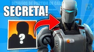 Skin OF THE FILTRATED HUNTING PARTY CHALLENGES! FORTNITE: BATAILLE ROYALE