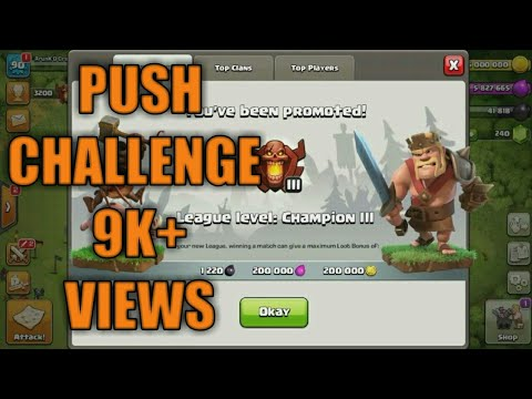 How to push to champions league on TH8