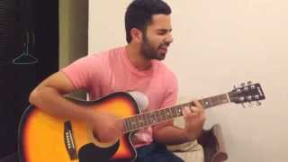 Tere bin sanu soneya by Rabbi shergill on guitar