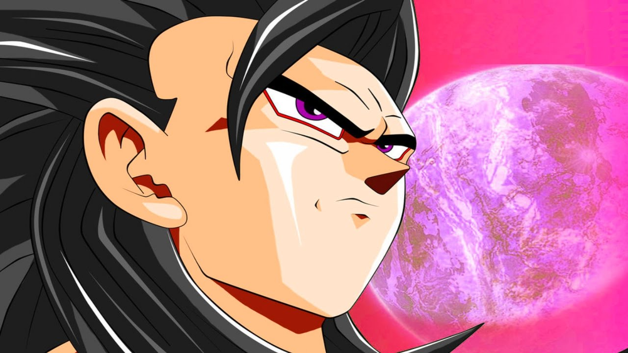 Hybrid transformation super saiyan 4 gohan vs super saiyan 4 trunks dragon ball super canon ssj4 - Dragon ball gohan super saiyan 4 ...