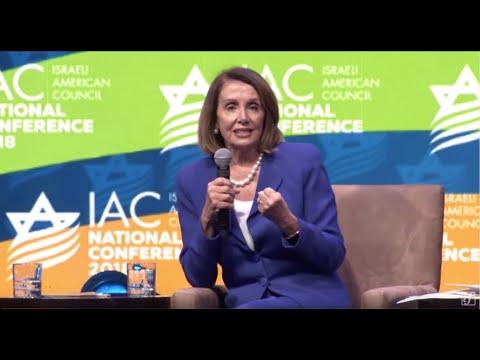 Schumer, Pelosi, & Israeli billionaire Haim Saban at 2018 IAC conference Mp3