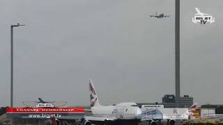 LIVE! British Airways 1st A350-1000 G-XWBA delivery flight into London Heathrow