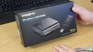 Gigabyte SkyVision WS100 Unboxing and First Look