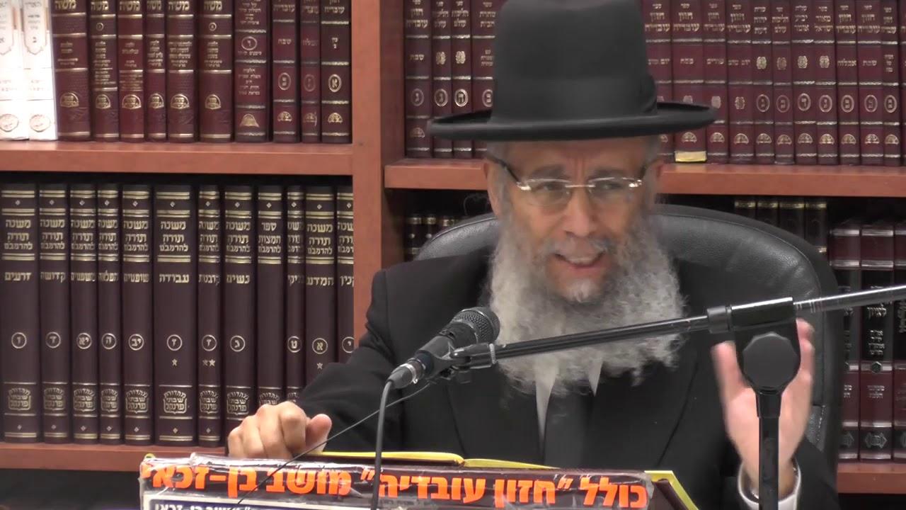 """הרב גדעון בן משה שליט""""א - הלכות הנחוצות בימי חופשה ובין הזמנים - עקב תשע""""ט"""