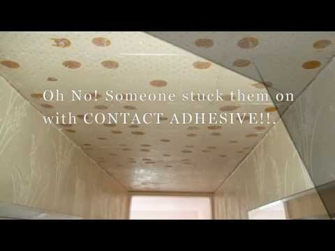 how-to-remove-contact-adhesive-from-a-ceiling