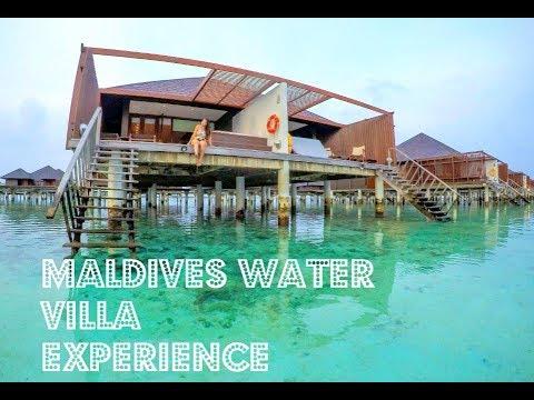 Maldives Paradise Island Water Villa Resort Private Island Vlog