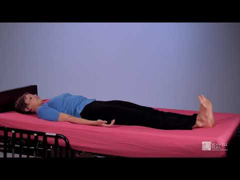 Yoga for Cancer Patients – Bed Exercises | Roswell Park Patient Education