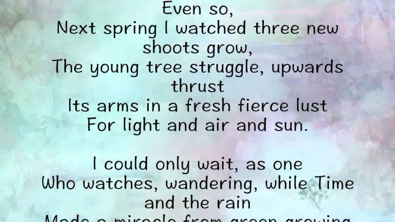 Famous Poetry About Life Struggles