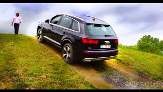 Off road new Audi Q7 2015 - V6 tdi quattro