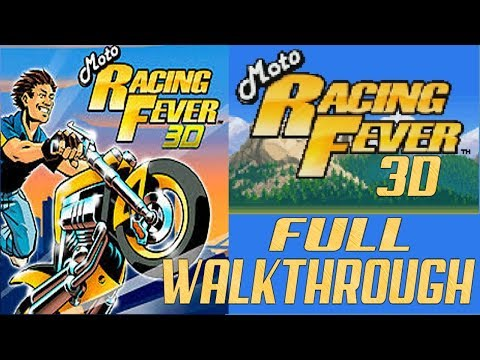 Moto Racing Fever 3D JAVA GAME (Digital Chocolate 2005 Year) FULL WALKTHROUGH
