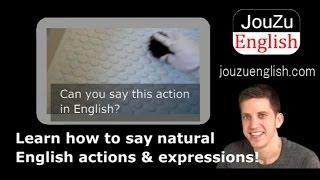 Fun Free Video English Lessons - scrub 131213|Learn everyday English online!