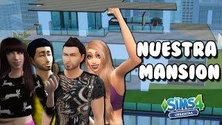NOS MUDAMOS A UNA MANSION DE LUJO | Perdida en la Ciudad | Los Sims 4 Episodio 40