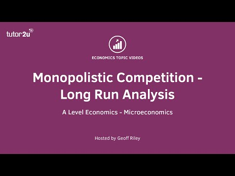 Monopolistic Competition - Long Run Analysis