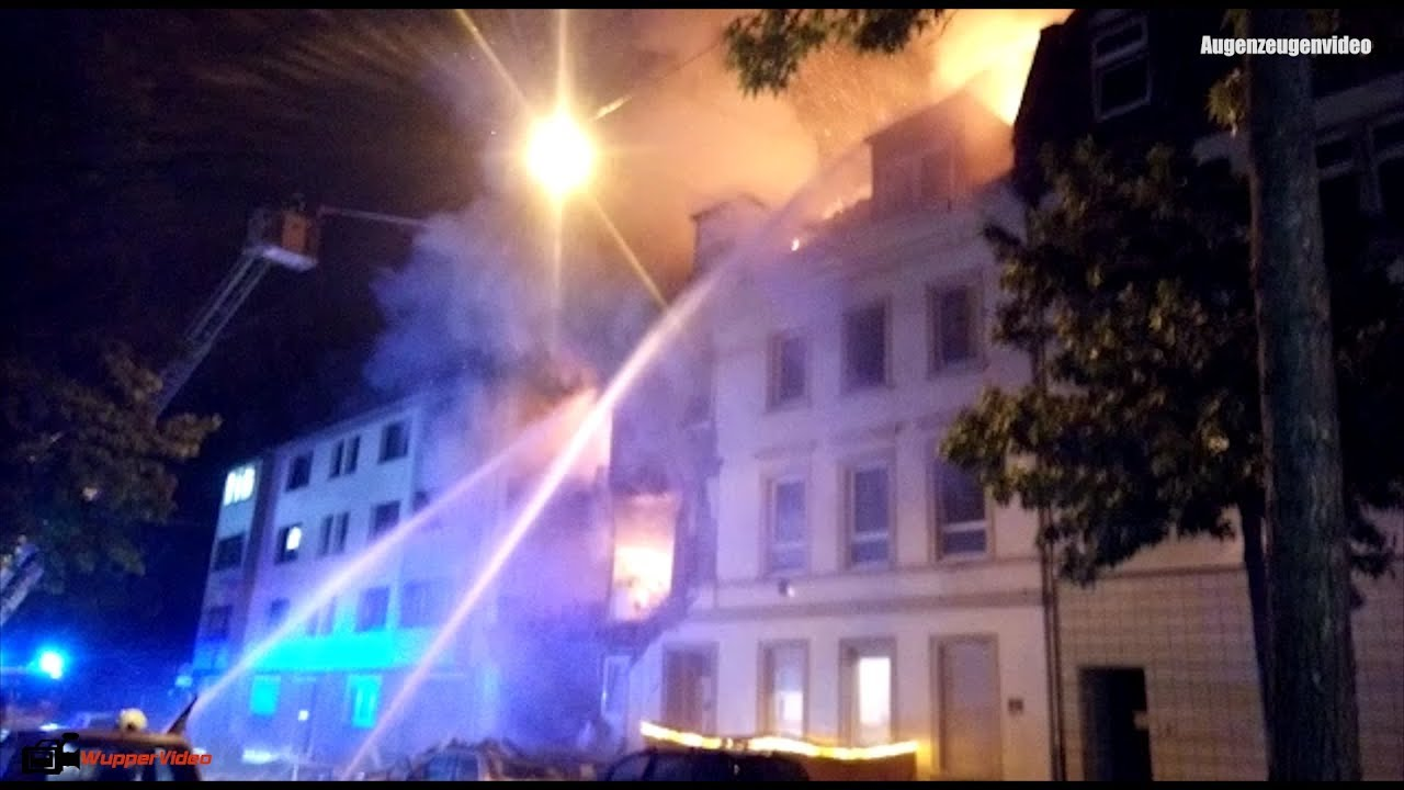 Hausexplosion Wuppertal