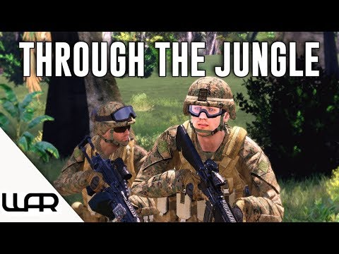 THROUGH THE JUNGLE - MILSIM (Arma 3) - 43rd Marine Expeditionary Unit - Episode 3