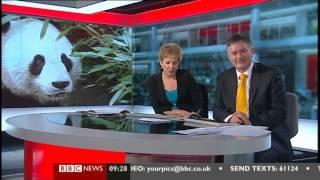 BBC News Blooper  Simon McCoy 0927 06 March 2013