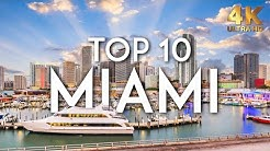 TOP 10 Things to do in MIAMI in 2019 | Florida Travel Guide 4K