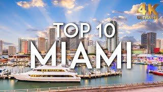 TOP 10 Things to do in MIAMI in 2020 | Florida Travel Guide 4K