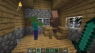 WORLDS BEST OBSIDIAN TRAP!  Minecraft BED WARS Trolling