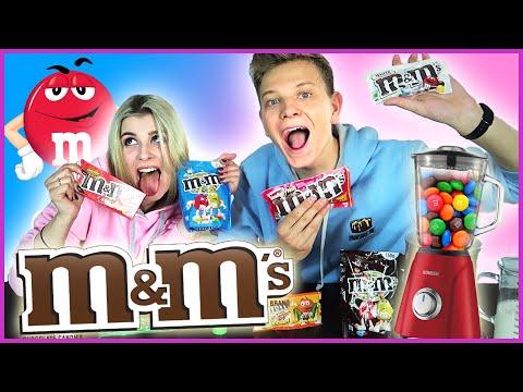 M&M's SMOOTHIE CHALLENGE!😱 - Słodkości #11   Dominik Rupiński