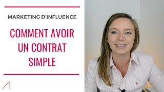 #169 - INFLUENCEUR: Comment avoir un contrat de partenariat SIMPLE ?