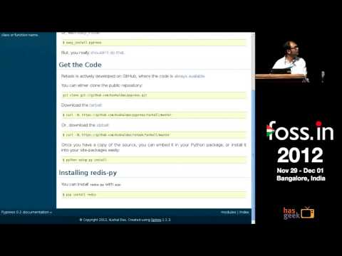 Kushal Das - Document your code