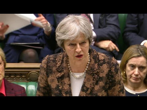 British Prime Minister Theresa May threatens retaliation against Russia over ex-spy poisoning