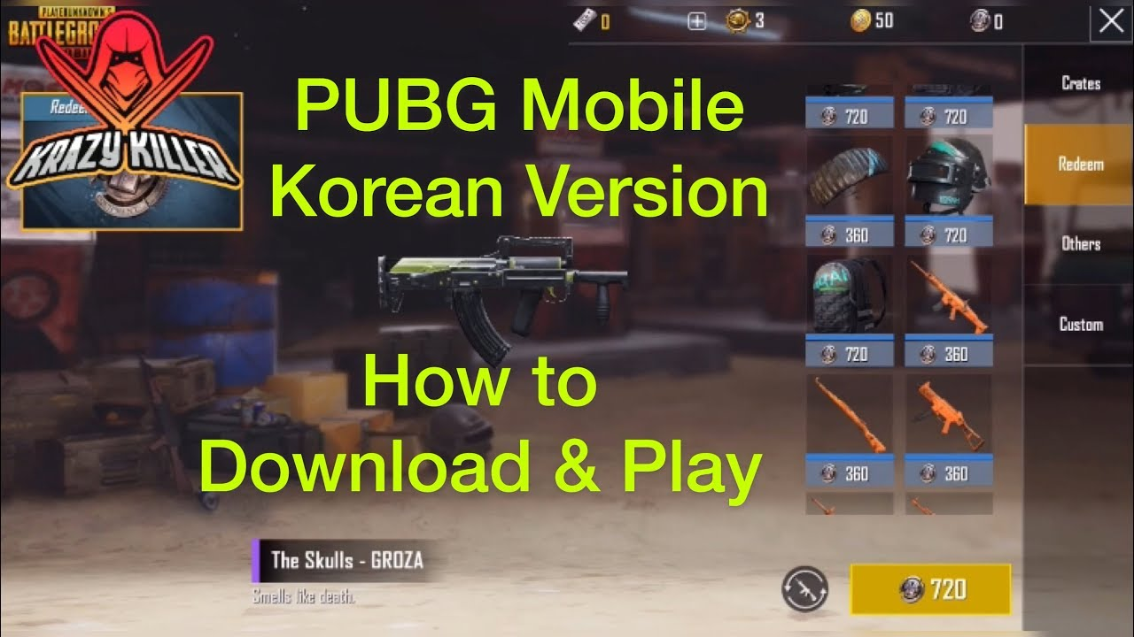 Pubg Mobile Korean Version Download Gameplay Ios For Android