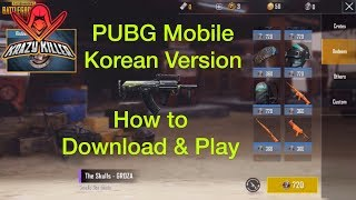 Pubg Mobile Korean Version - Download & Gameplay Ios  For Android, Check The