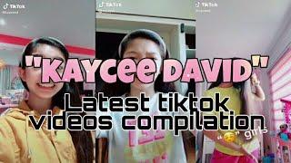 KAYCEE DAVID LATEST TIKTOK VIDEOS COMPILATION!! (So cuteee!!!) (AUGUST 2020)