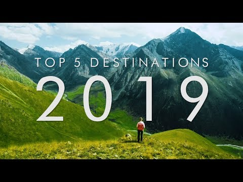 5 BEST Travel Destinations For 2019 | UNILAD Adventure